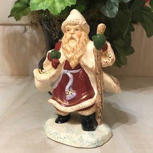 Ceramic Santa Clause Figurine